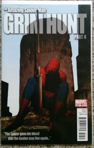 The Amazing Spiderman #637 Grim Hunt Part 4 - NM or better