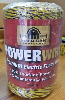 American Farm Works Powerwire. 656 Ft.