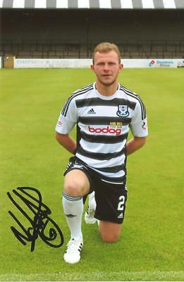 AYR UNITED: NICKY DEVLIN SIGNED 6x4 PORTRAIT PHOTO+COA