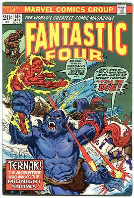 Fantastic Four  145  Vf  Medusa  Ternak  Ross Andru  1961  More Marvel In Store