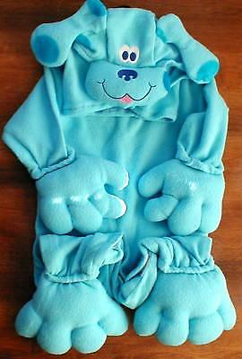 Blue Clues Costume (Nick Jr Blue's Clues Newborn Costume 0-9 months)