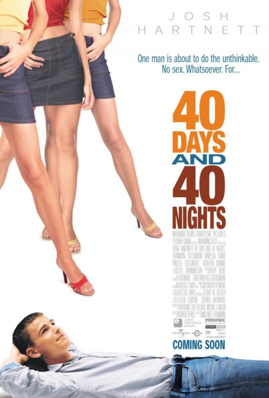 40 Days & 40 Nights - screenplay manuscript