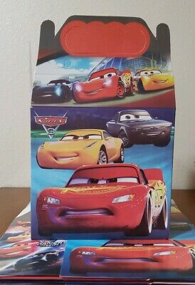 Cars Party Favor Boxes (10 Cars Lightning McQueen Favor Boxes Party Favor Bags Loot Bags Party)