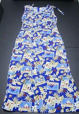 Dress Hawaiian Theme (DISNEY STORE MICKEY & MINNIE Sz S HAWAIIAN ALOHA POSTCARD VACATION THEME)