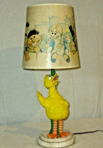 vintage Big Bird Lamp and Shade Sesame Street