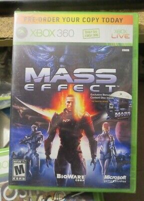 XBOX 360 game MASS EFFECT factory sealed for sale  Shipping to India