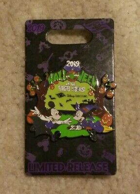 2019 Disney Cruise Line Halloween on the High Seas Cruise Limited Release Pin