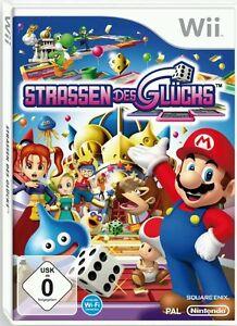 Nintendo Wii Spiel ***** Strassen des Glücks * Straßen ******************NEU*NEW