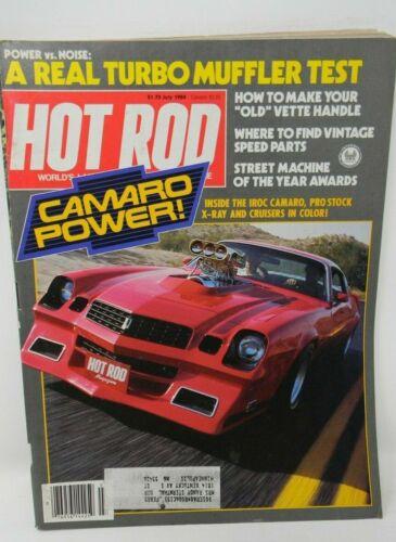 Hot Rod Magazine July1984 - Camaro Power!