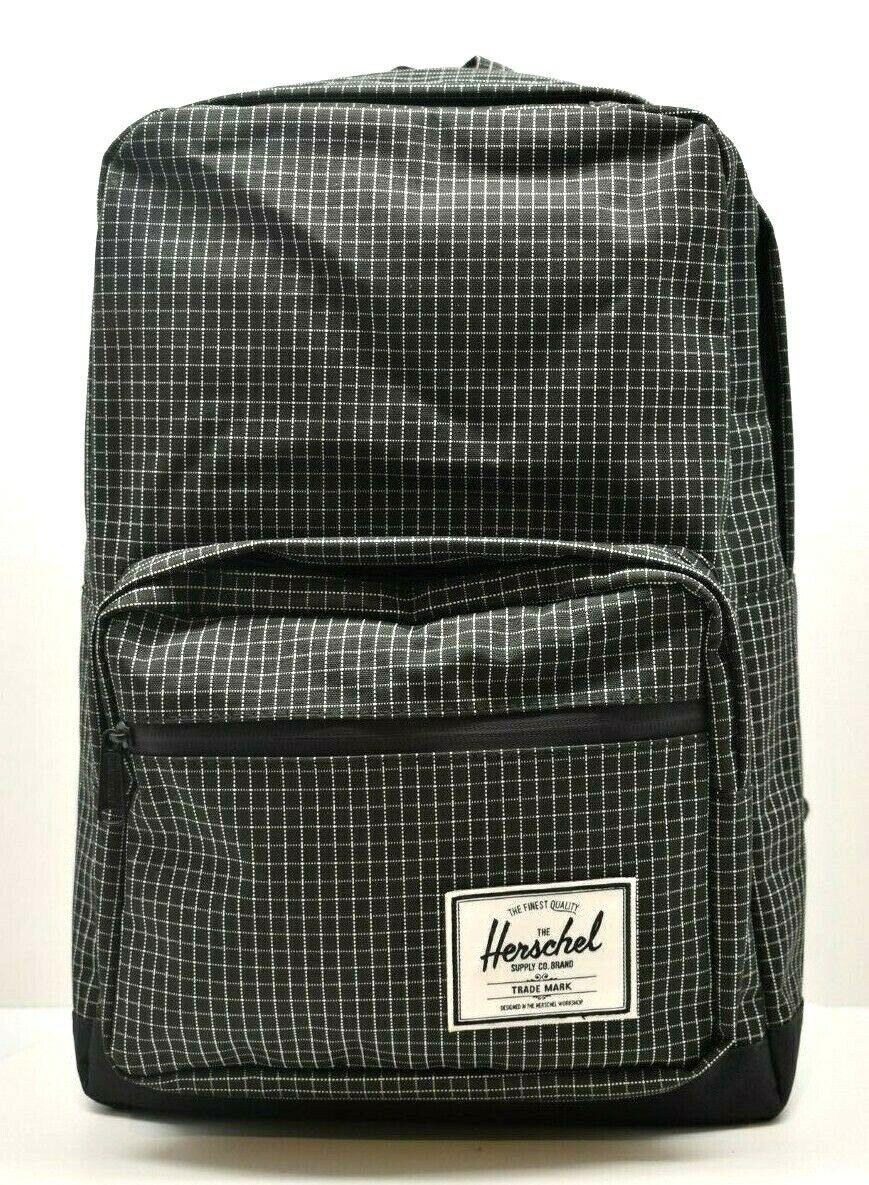 Herschel  Backpack Pop Quiz Black / 3M Grid   FREE SHIPPING