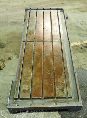 76.25 X 29.375 X 5.5 Steel Welding 5 T-slotted Table Layout Plate Jig5 Slot