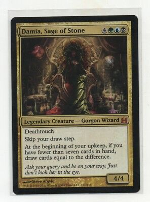 Damia, Sage of Stone Commander MTG English NM Flat rate shipping   for sale  Shipping to South Africa