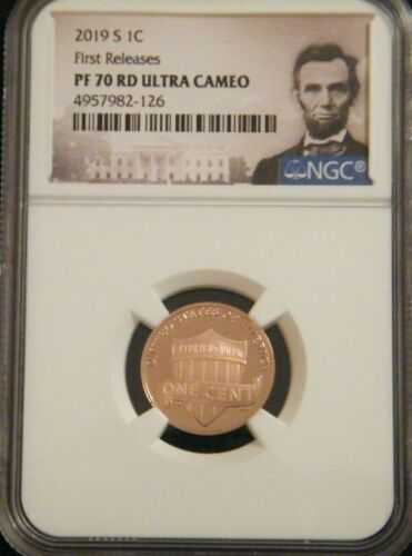 2019 S LINCOLN SHIELD PROOF NGC 1C PF 70 RD ULTRA CAMEO FIRST RELEASES #3