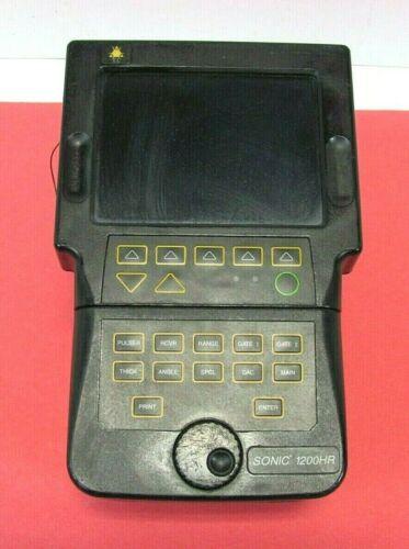 Olympus NDT Sonic 1200HR Ultrasonic Flaw Detector, Free Ship