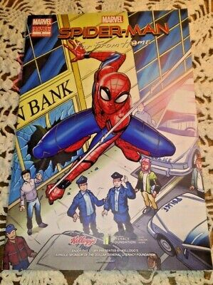 Marvel SPIDER-MAN * Custom Edition * Advertising Comic Book * FAR FROM HOME *
