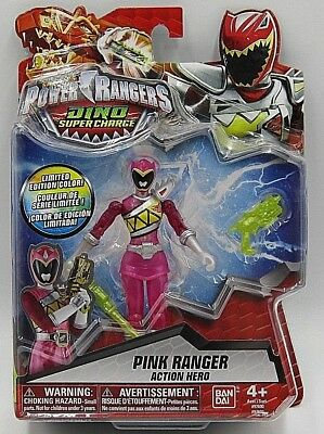 """Sabans Power Rangers Pink Ranger Action Hero 5"""" Limited Edition Color - Power Ranger Colors"""