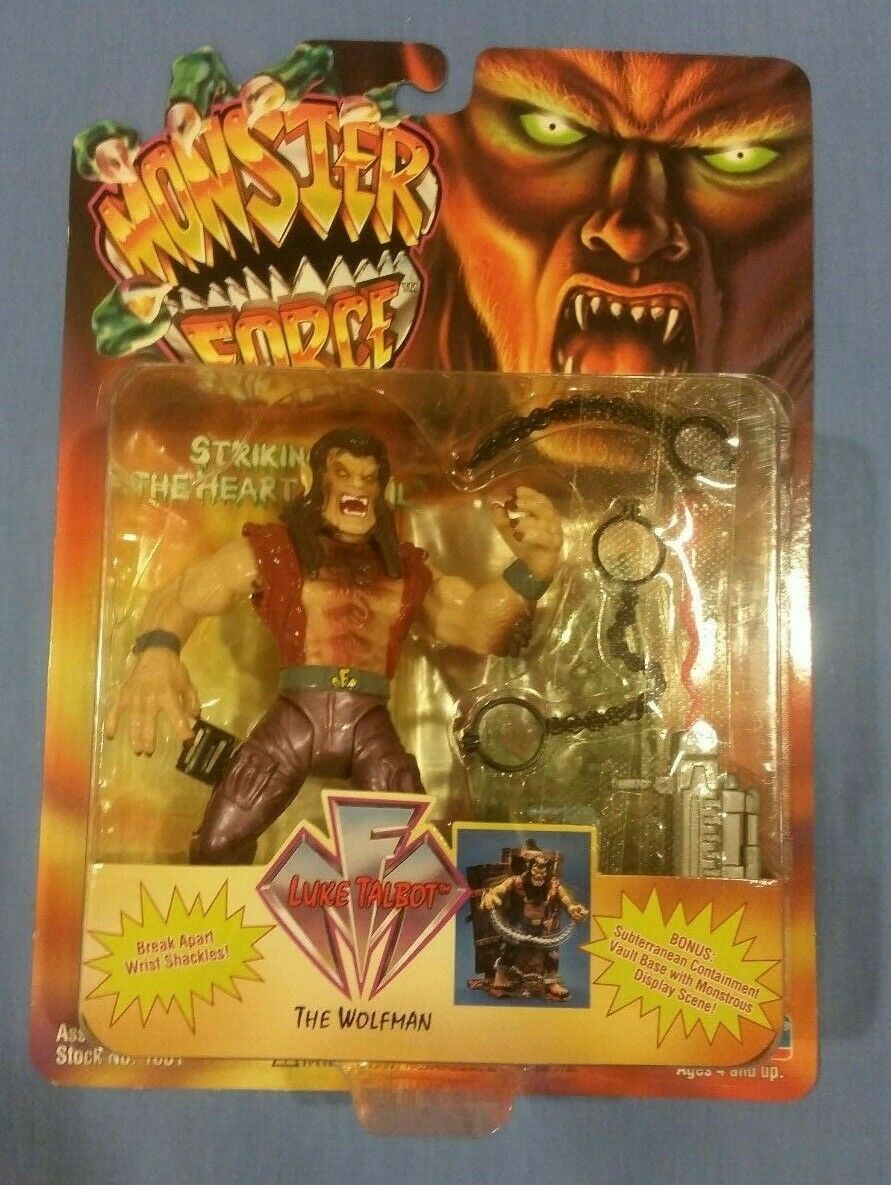 Monster Force The Wolfman Luke Talbot Action Figure MOC - $15.99