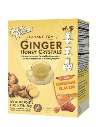 Prince of Peace - Ginger Honey Crystals 10 bags