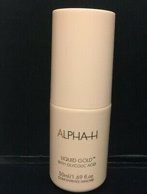 ALPHA H Liquid Gold With Glycolic Acid 1.69oz / 50ml Unboxed New