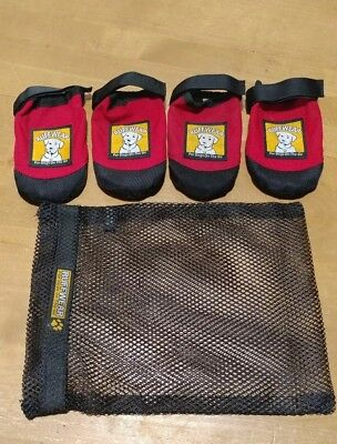 - Ruffwear Boots Ruff Wear for Dogs Red Dog Shoes Size L large