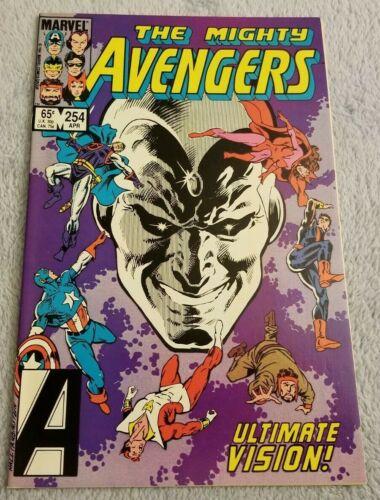 The Mighty Avengers #254 - Marvel Comics - April 1985 - Comic Book