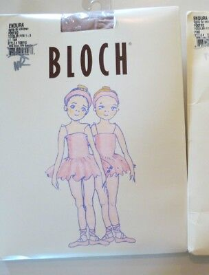 NIP NEW Endura Footed Tights  by BLOCH ~Toddler 1-3 LT  TAN