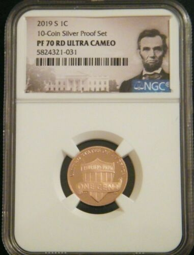 2019 S LINCOLN SHIELD PROOF NGC 1C PF 70 RD ULTRA CAMEO #2