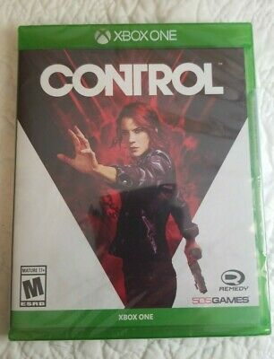 CONTROL (Microsoft Xbox One / Remedy, 2019) Brand New Sealed