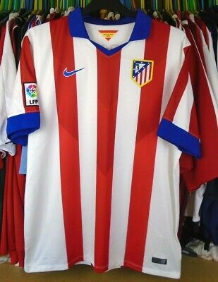 Athletico Madrid 1960s Football T Shirt New Sizes S-XXL Embroidered