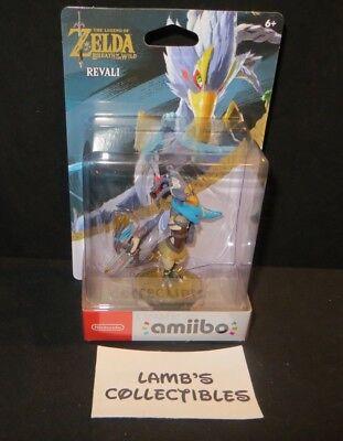 Breath Of The Wild The Legend Of Zelda Amiibo Revali Champion Action Figure