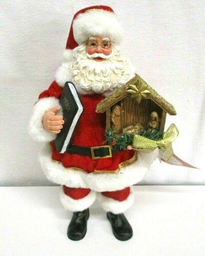 BELIEVE Possible Dreams Clothtique Dept. 56 Santa Christmas figure nativity