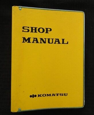 Genuine Komatsu Pw210 1 Portable Crawler Excavator Service Repair Manual