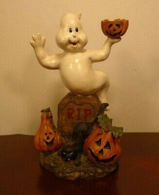 Cute Halloween Ghost Pumpkins Black Cat & Tombstone 6