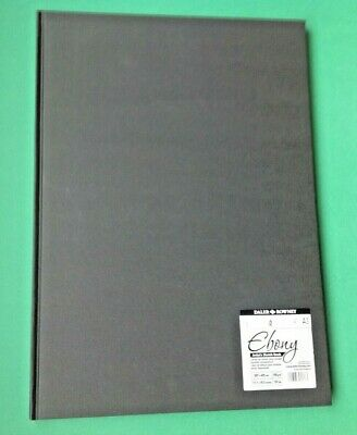 DALER-ROWNEY EBONY ARTISTS SKETCH BOOK HARDBACK A3