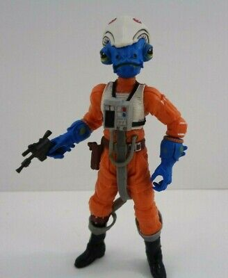 Star Wars Ibtisam Action Figure Rogue Squadron #19 Comic Packs Hasbro 2009 3.75""