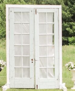 Antique Doors with Frame