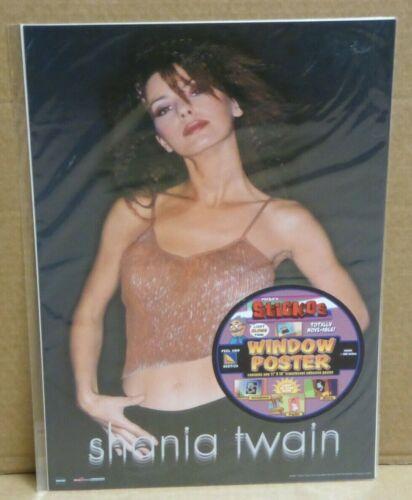 Shania Twain Sticos adhesive 16 x 11 Window Poster NEW NuVista 2001