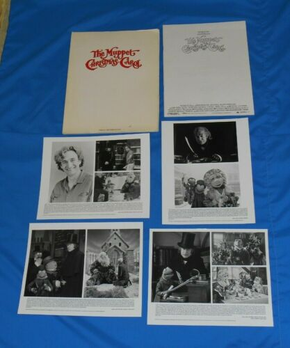 original THE MUPPET CHRISTMAS CAROL PRESS KIT