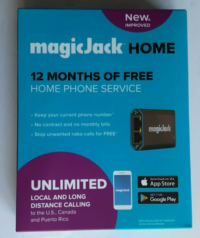magicJack HOME 12 Months of Free Home Phone Service VoiP