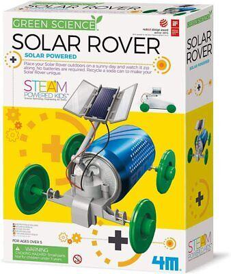 Green Science Solar Rover Kit DIY Solar Power Eco-Engineering STEM Toys for kids
