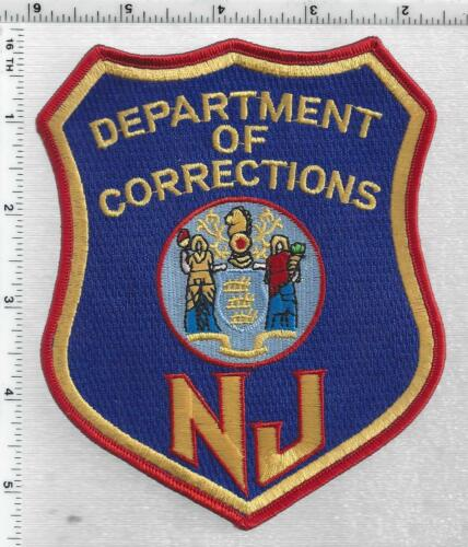 New Jersey Department of Corrections 2nd Issue Cap/Hat Patch