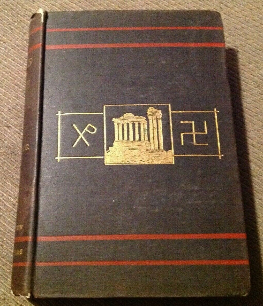 Antique 1878 Illustrated Book WALKS IN ROME Vol. I By Augustus J.C. Hare - $15.00