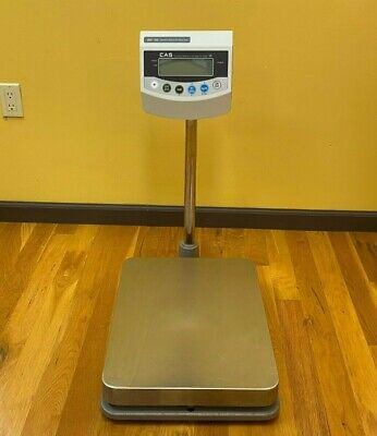 Used Cas Bw-150 Digital Bench Scale 300lb Legal For Trade- B Grade