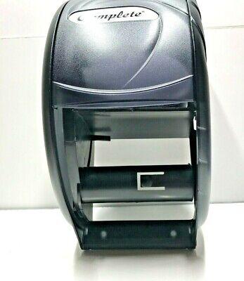 Sysco Complete Toilet Tissue Paper Roll Dispenser In Black Pearl Classic New