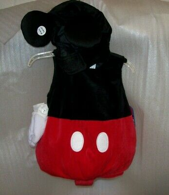 DISNEY STORE BABY MICKEY MOUSE CLUB HOUSE MICKEY BODYSUIT COSTUME NEW WITH TAGS  - Mickey Mouse Club Costumes