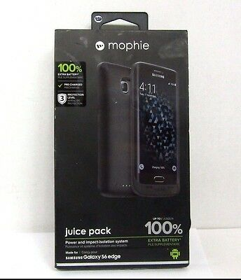 Mophie juice pack Battery Case for Samsung Galaxy S6 Edge...