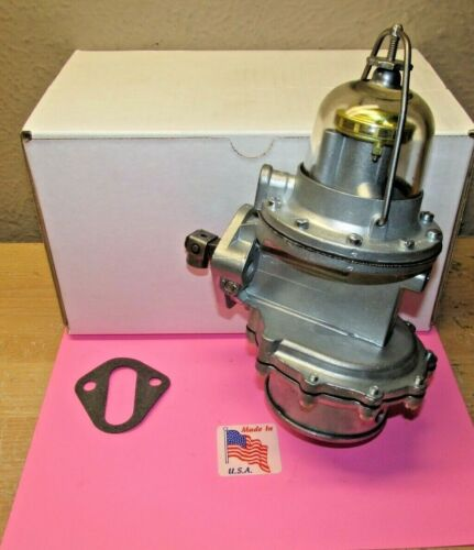 1949 TO 1951(EARLY) LINCOLN DOUBLE ACTION REBUILT FUEL PUMP FOR MODERN FUELS