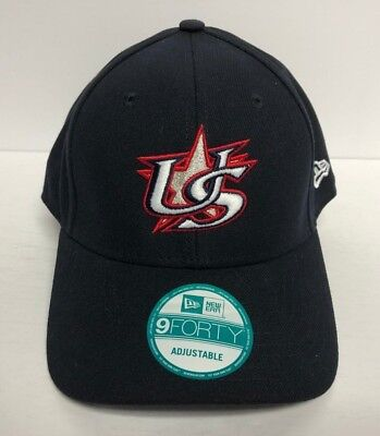 best service 90ff1 add0f USA World Baseball Classic NEW ERA 9FORTY Adjustable Hat with American Flag