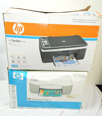 Job lot of 2 Printers HP Deskjet F380 & HP Deskjet F4180