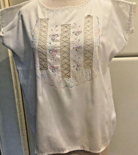 HUIPIL Guatemalan Embroidered Blouse Top